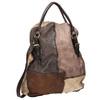 Kožená kabelka do ruky a-s-98, hnědá, 966-4041 - 13