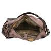 Kožená kabelka s masivním popruhem a-s-98, hnědá, 966-4037 - 15