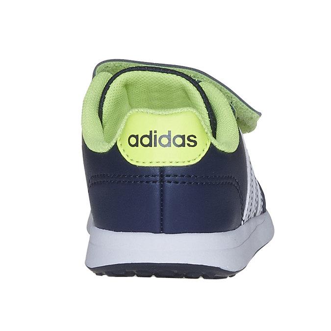 Dětské tenisky na suché zipy adidas, modrá, 109-9163 - 17