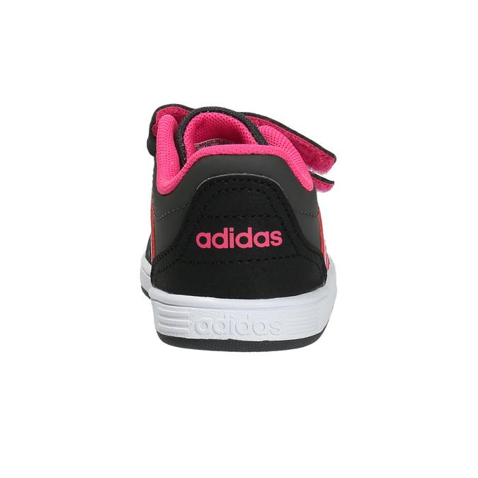 Dětské tenisky na suché zipy adidas, černá, 101-5254 - 17