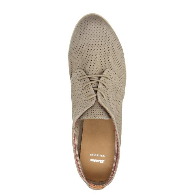 Kožené dámské polobotky bata, 2020-526-2619 - 19