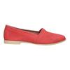 Červené kožené Slip-on boty bata, červená, 516-5602 - 15