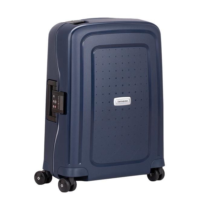Kvalitní skořepinový kufr samsonite, modrá, 960-9321 - 13