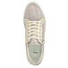 Růžové kožené tenisky se zipem bata, růžová, 526-5630 - 19