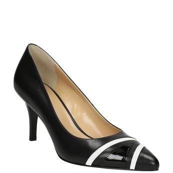 Elegantní dámské lodičky bata, černá, 624-6633 - 13