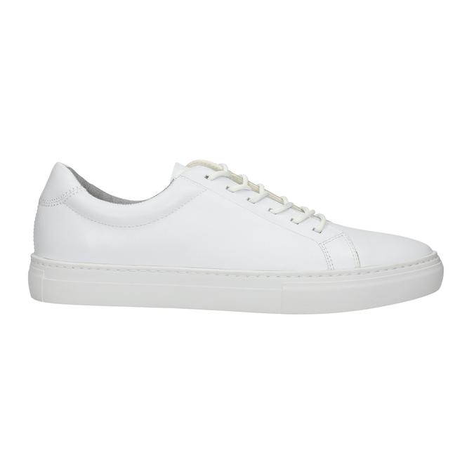 Bílé kožené tenisky vagabond, bílá, 824-1013 - 15