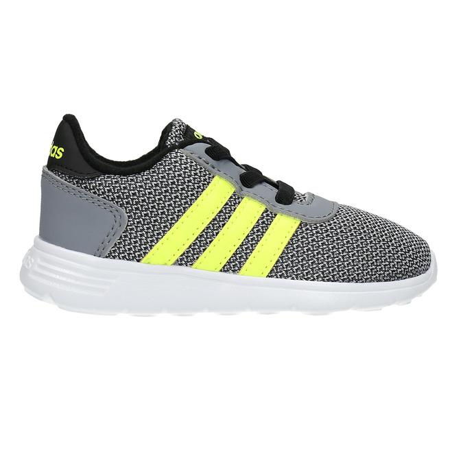 Dětské sportovní tenisky adidas, šedá, 109-2335 - 15