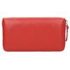 Červená kožená peněženka bata, červená, 944-5178 - 19