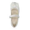 Dětské baleríny s mašlí mini-b, bílá, 321-1247 - 19