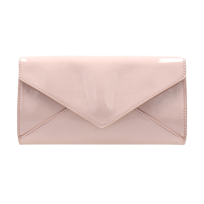 Růžové dámské psaníčko bata, růžová, 961-5685 - 26