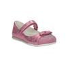 Růžové baleríny s páskem přes nárt mini-b, růžová, 221-5179 - 13