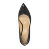 Kožené lodičky do špičky bata, černá, 624-6632 - 19