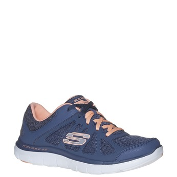 Dámské sportovní tenisky skechers, modrá, 509-9963 - 13