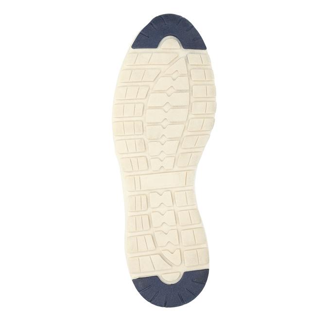 Ležérní kožené tenisky bata, hnědá, 846-2632 - 26
