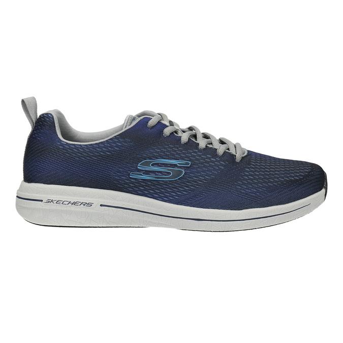 Pánské tenisky s paměťovou pěnou skechers, modrá, 809-9141 - 15