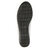 Dámské kožené polobotky bata, bílá, 526-1635 - 26