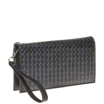 Dámská peněženka s poutkem bata, černá, 941-6148 - 13