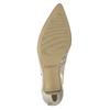 Barevné kožené lodičky s volnou patou gabor, 726-1202 - 26