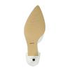 Kožené dámské lodičky bata, bílá, 624-1631 - 26