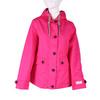 Růžová dámská bunda s kapucí joules, růžová, 979-5010 - 13