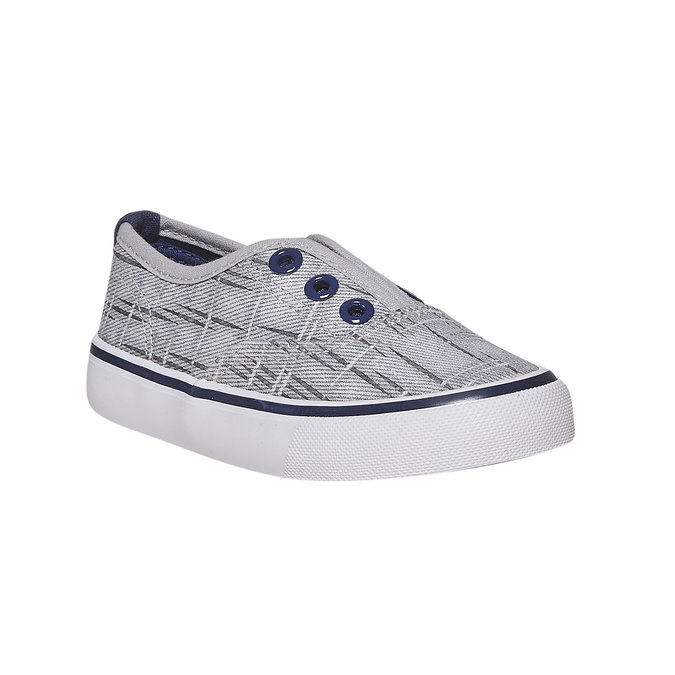 Dětská Slip-on obuv north-star, šedá, 219-2154 - 13