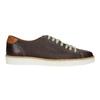 Hnědé kožené tenisky bata, hnědá, 846-4618 - 15