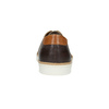 Hnědé kožené tenisky bata, hnědá, 846-4618 - 17