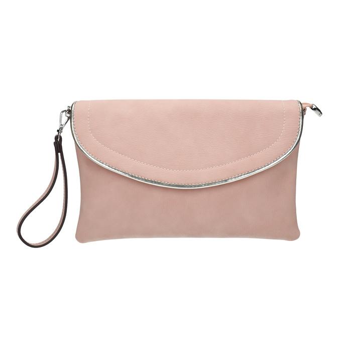 Růžové psaníčko bata, růžová, 961-5708 - 26