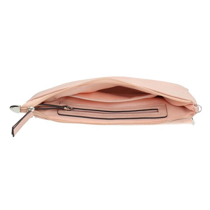 Růžové psaníčko bata, růžová, 961-5708 - 15