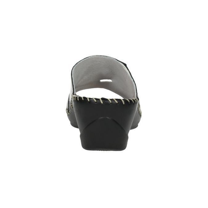 Kožená domácí obuv comfit, 674-8120 - 17