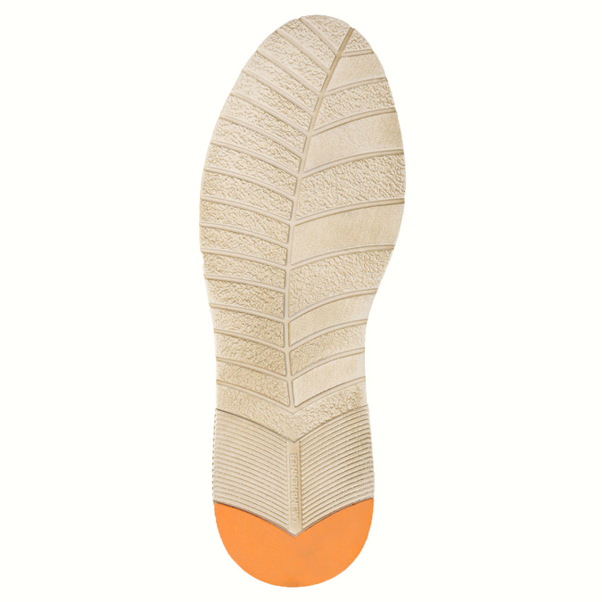 Ležérní polobotky z broušené kůže weinbrenner, hnědá, 843-4629 - 26