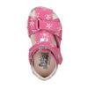 Dívčí kožené sandály bubblegummers, růžová, 166-5600 - 19