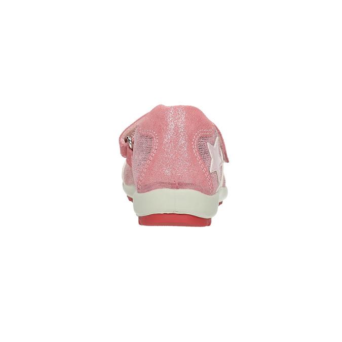 Baleríny s výraznou podešví mini-b, růžová, 321-5605 - 17
