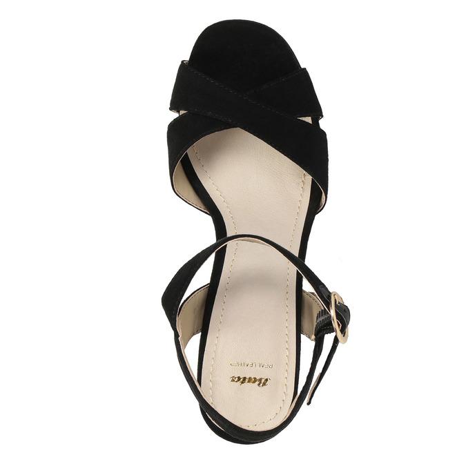 Dámské sandály na masivním podpatku bata, 2021-769-6602 - 19