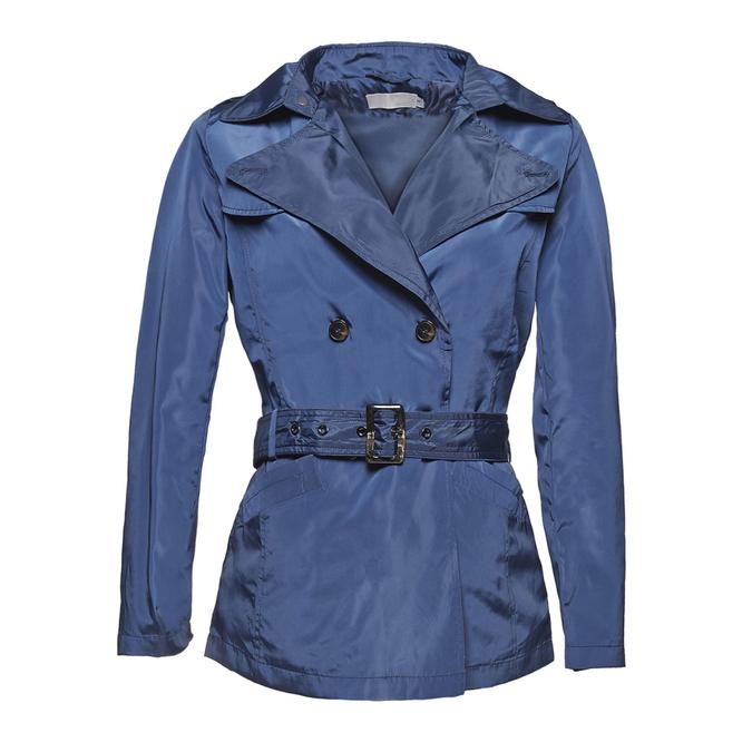 Modrý dámský trenčkot bata, modrá, 979-9205 - 13
