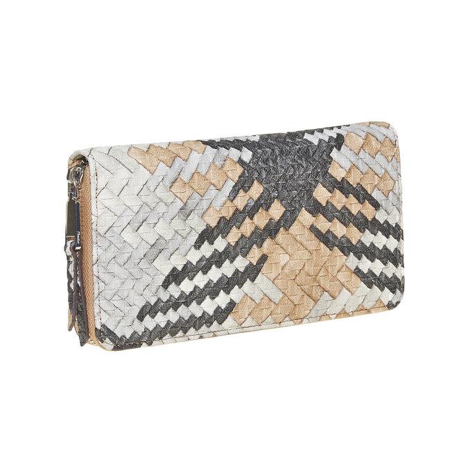Dámská peněženka se vzorem bata, hnědá, 941-4149 - 13