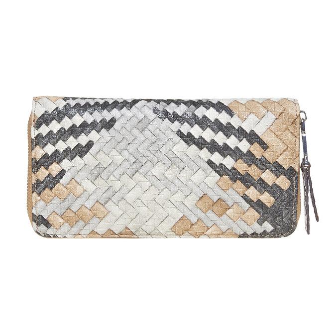 Dámská peněženka se vzorem bata, hnědá, 941-4149 - 26