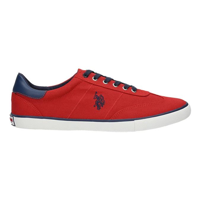 Ležérní červené tenisky u-s-polo-assn-, červená, 829-5016 - 15