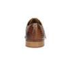 Hnědé kožené polobotky se strukturou melvinandhamilton, hnědá, 826-4057 - 17