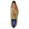 Pánské kožené Ombré polobotky melvinandhamilton, hnědá, 826-8056 - 19