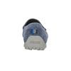 Mokasíny z broušené kůže geox, modrá, 813-9016 - 17