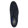 Polobotky z broušené kůže rockport, modrá, 826-9070 - 19