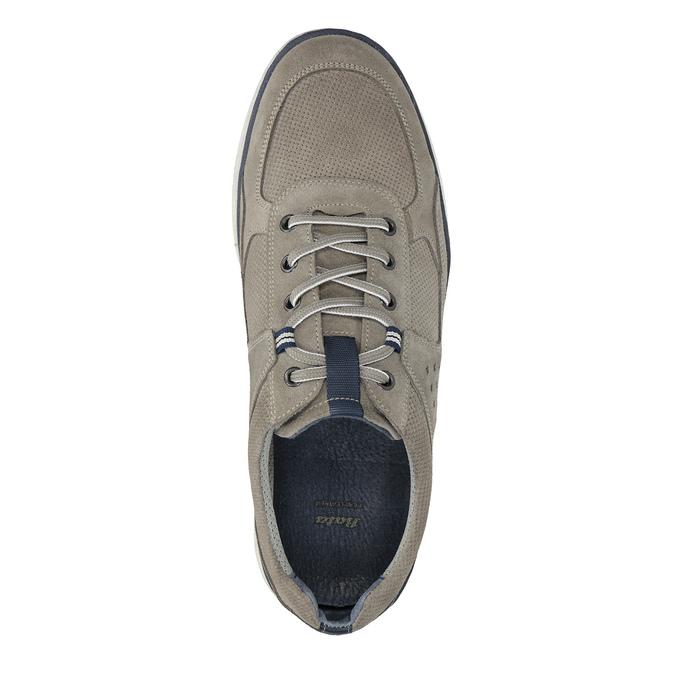 Ležérní kožené tenisky bata, šedá, 843-2627 - 19