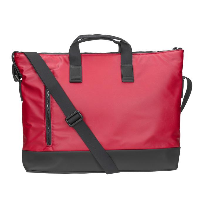 Červená cestovní taška roncato, červená, 969-5641 - 26