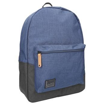 Modrý unisex batoh roncato, modrá, 969-9647 - 13