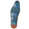 Kožené pánské polobotky s perforací melvinandhamilton, hnědá, 826-8058 - 26