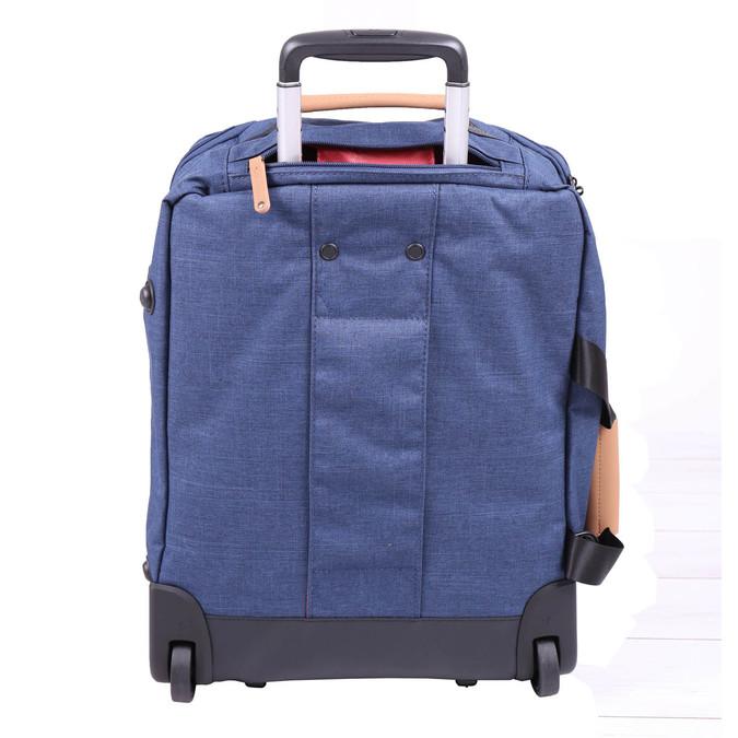Cestovní taška na kolečkách roncato, modrá, 969-9646 - 26