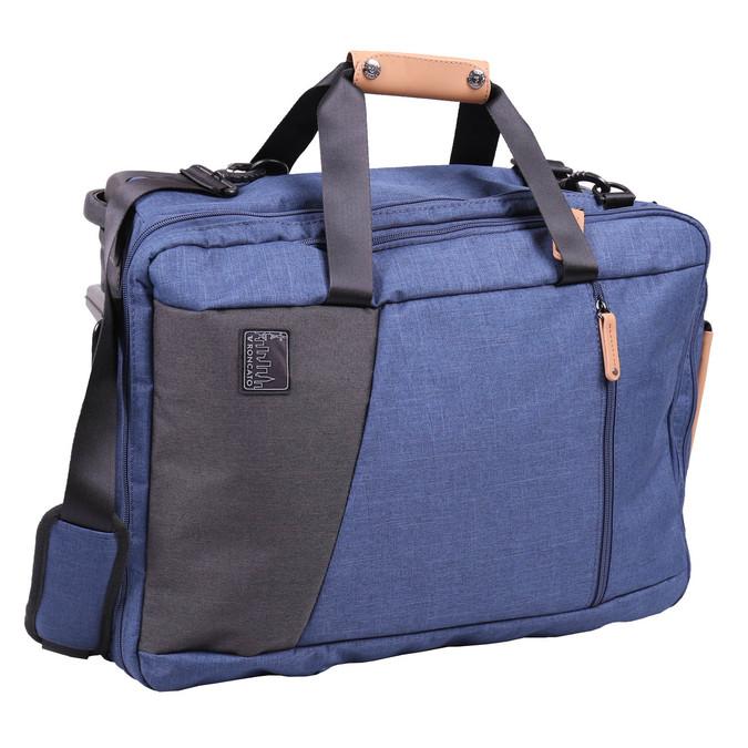 Cestovní taška na kolečkách roncato, modrá, 969-9646 - 13