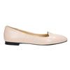 Dámské kožené baleríny bata, růžová, 528-5630 - 15