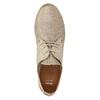 Dámské kožené polobotky bata, béžová, 526-8629 - 26